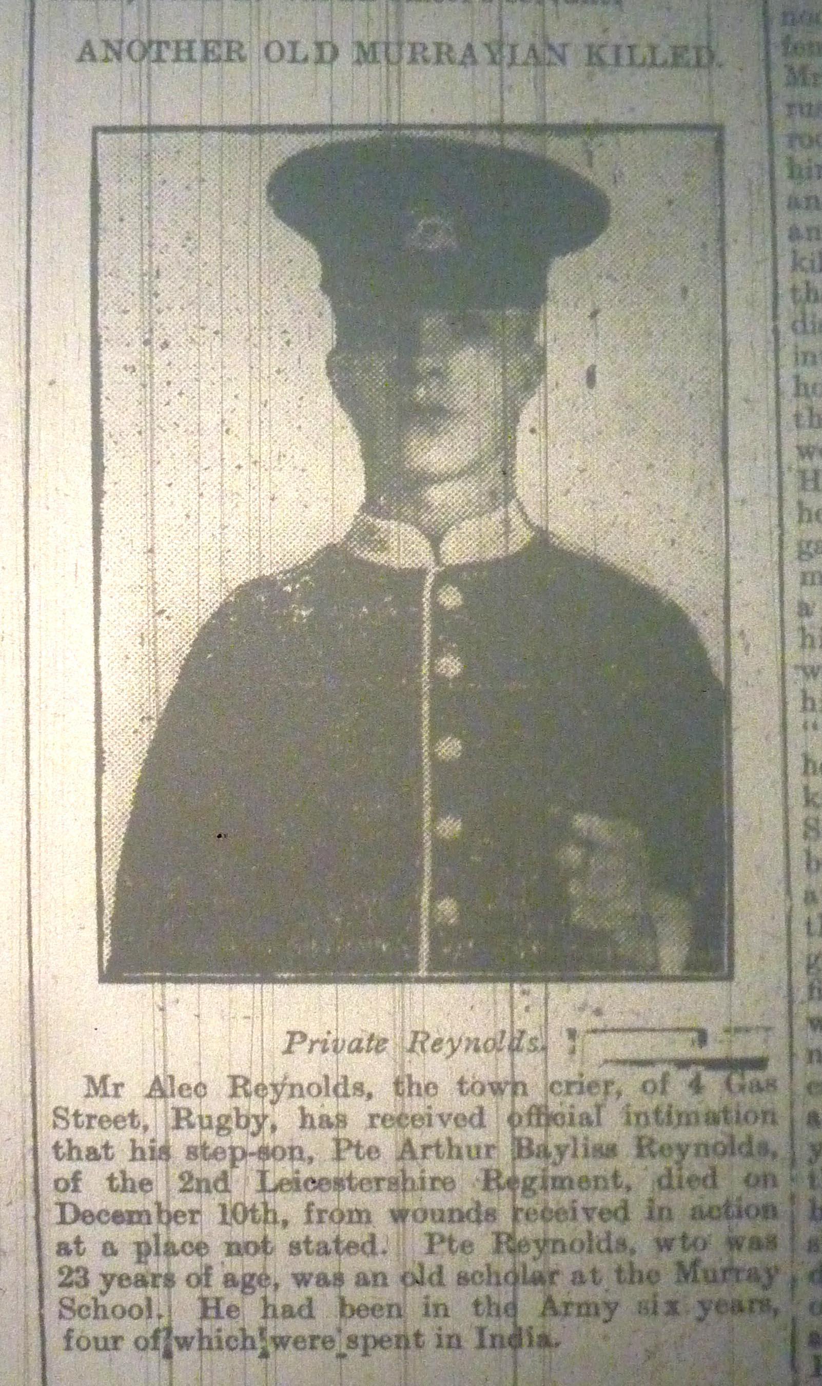 Leicestershire Regiment