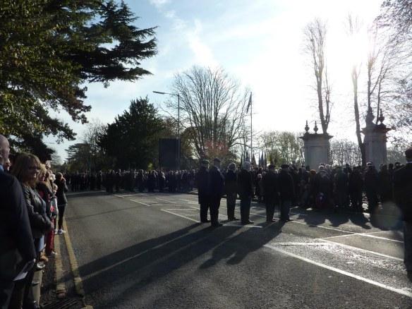 Parade at the Gates