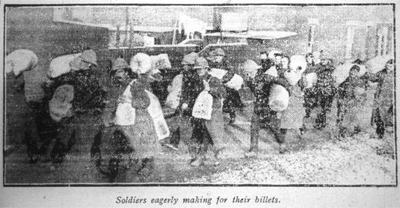 Soldiers arrive in Rugby from India