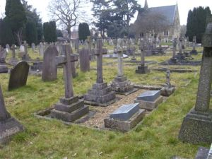 The Brooke family graves in Clifton Road Cemetry