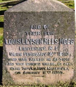 Rees Mogg family grave