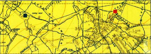 Russell - graves and trench map