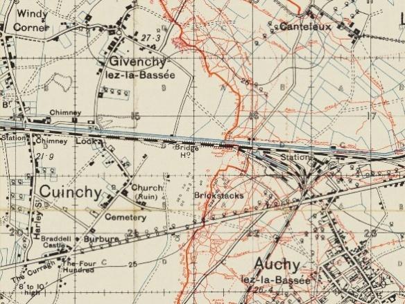 Pepperday G - Cuinchy-Givenchy-Auchy-Dec-1915