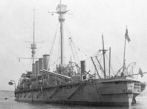 HMS Defence, stern view