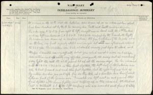 KOYLI Way Diary.Pagefrom 18th Nov 1916