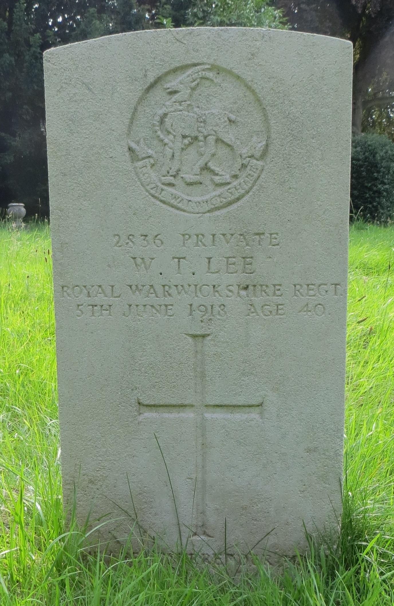 Where is Matron buried 95